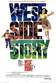 West Side Story Poster Film 27 x 40 In - 69cm x 102cm