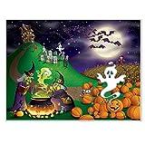 Beistle Halloween Insta Mural, 5-Feet by 6-Feet