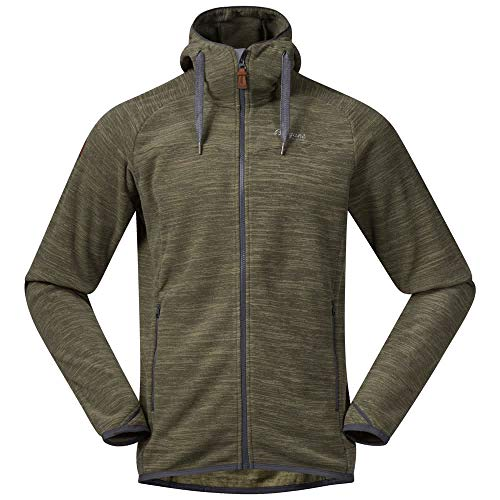 Bergans Hareid Fleece Jacket Men - Fleecejacke mit Kapuze