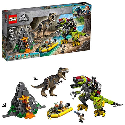 The LEGO TRex Vs. Dino-Mech building set is one of the hottest new toys for tweens