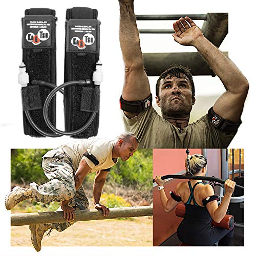 KAATSU Arm Bands (Extra Large), 1 Set of 2 Arm Bands, for Men and Women, Blood Flow Moderation Training, Tone Muscle, Release HGH and Nitric Oxide Naturally, Without Lifting Heavy Weights