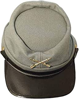 Civil War Wool Lined Kepi Hat