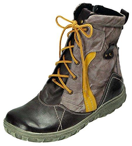 MICCOS Shoes Stiefel D.RV-Stiefel in braun/Komb, Größe 38.0,
