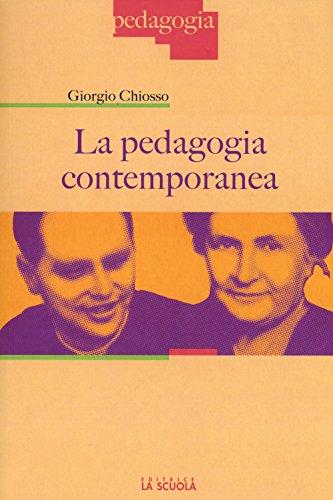 La pedagogia contemporanea
