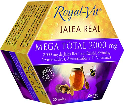 Dietisa - Royal-Vit - Jalea Real - Mega Total  2000 mg
