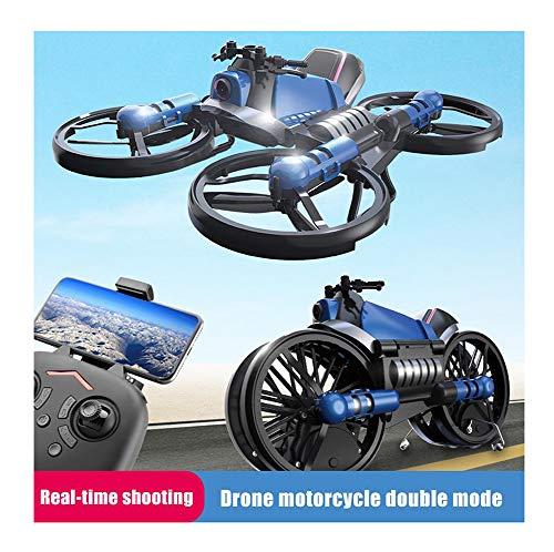 2-in-1 opvouwbare RC Drone met camera Motorvoertuig Multifunctioneel opvouwbaar vliegtuigvoertuig 6-assige Quadcopter-speelgoed