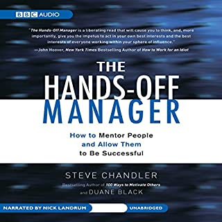 The Hands-Off Manager cover art