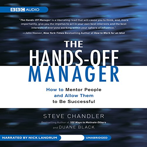The Hands-Off Manager audiobook cover art
