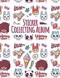 Sticker Collecting Album: Sticker Album For Collecting Stickers / Sticker Collecting Binder / Sticker Book Collecting Album / Sticker Trading Album / Empty Sticker Book / Sticker Album Reusable Pages