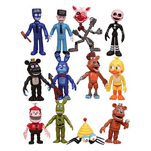 WenWiuir Five Nights at Freddy'S Estatuilla de Juguete Juguetes Figuras Figuras de acción Populares Set Figuras de acción Cubos de Rubik Juguetes muñeca (Color : A01, Size : 10cm)