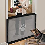 iPawde Magic Gate for Dog, Portable Dog Safe Guard Enclosure,Easy to Install & Lockable Safe Guard for Dogs Pet Keep Dogs Away from Kitchen/Upstairs/Indoor,31.5' * 39.3""
