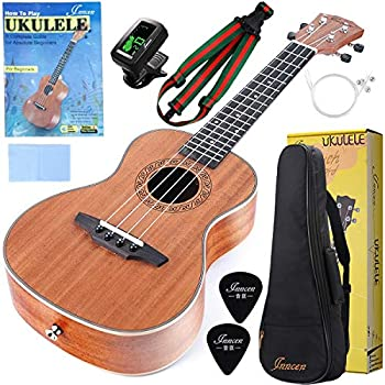 Concert Ukulele, 23 Inch Mahogany Ukuleles For Beginners review