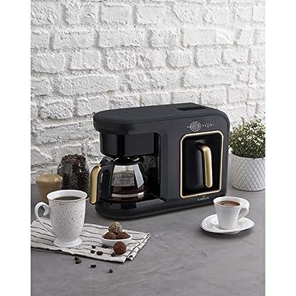 Karaca-Hatir-Plus-2-in-1-FilterkaffeeTurkischen-Kaffeemaschine-Black-Copper-Fur-5-Personen-1385W-Filter-aus-Edelstahl-Glas-Kanne-Kaffeevollautomat