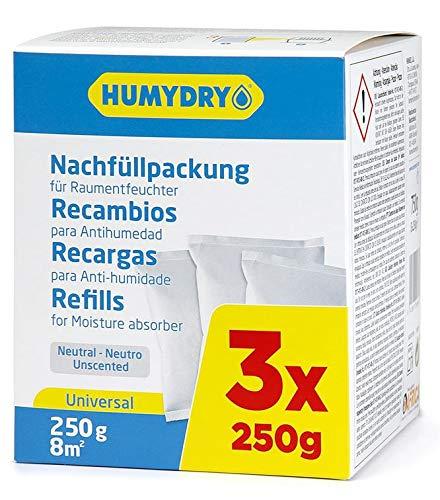 HUMYDRY® Nachfüllpackungen 3x250g