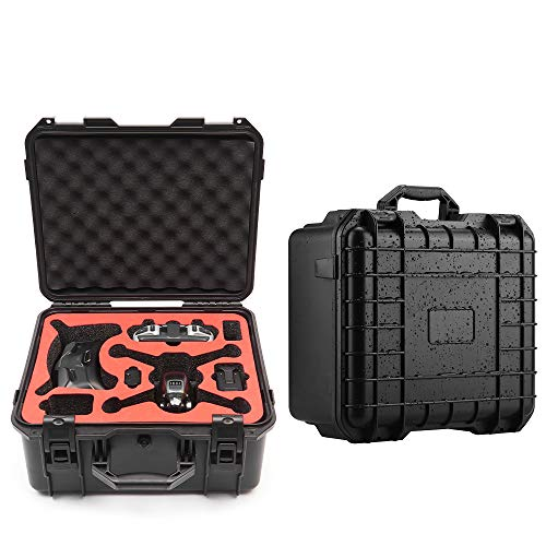 LOVONLIVE FPV Drone Explosion-proof Hard Storage Bag, ABS Safety Waterproof Protective Box Carrying Case for DJI FPV Drone Combo Accessories/Outdoor Travel FPV Drone Case