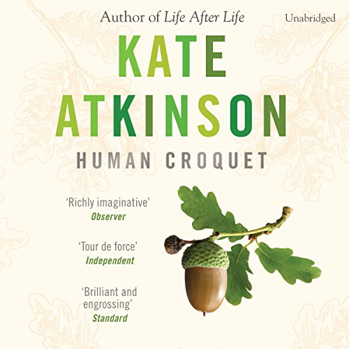 Human Croquet audiobook cover art