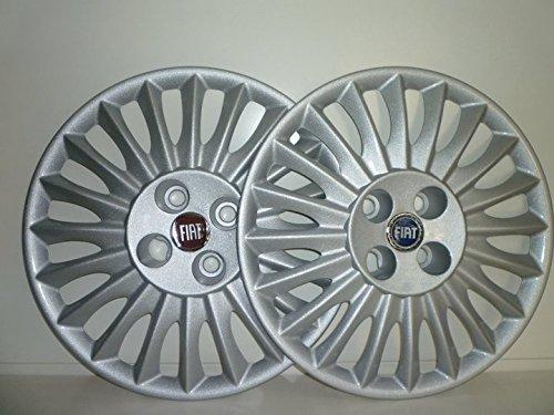 Set von 4Rad Silverstone Radzierblenden für Fiat Grande Punto 2005R 15)