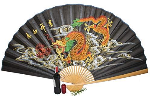 AAF Nommel®, großer Dekofächer 054 aus Papier und Bambus, geöffnet ca 160 cm breit!