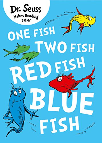 One Fish, Two Fish, Red Fish, Blue Fish (English Edition)