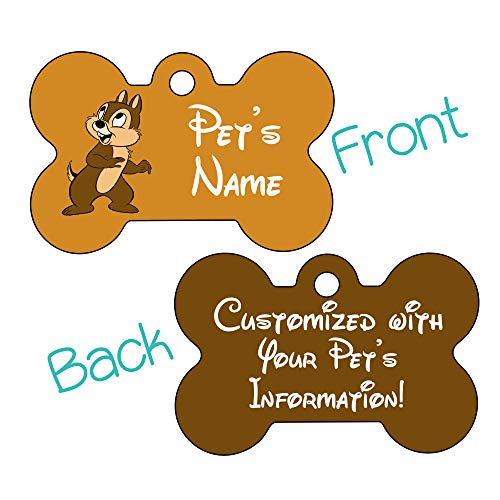 Chip | Chip and Dale 2-Sided Pet Id Dog Tag | Personalized for Your Pet