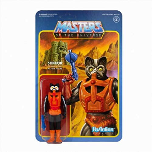 SUPER7 ACTIONFIGUREMANIA.IT Masters of The Universe Stinkor Limited Edition Reaction Figure