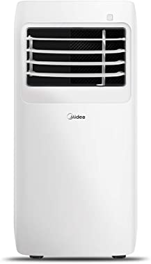 MIDEA MAP08R1CWT 3-in-1 Portable Air Conditioner, Dehumidifier, Fan, for Rooms up to 150 sq ft, 8,000 BTU (5,300 BTU SACC) co