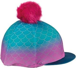 Equetech Housse de casque en soie Florence Flamingo