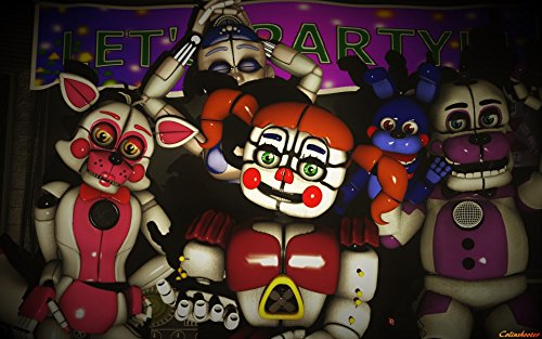 Poster Five Nights at Freddy's Sister Location Game (8 x 10)