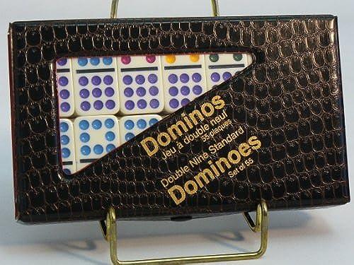 envío gratuito a nivel mundial Dominoes Double Double Double Nine Color Dots by John Hansen  orden ahora con gran descuento y entrega gratuita