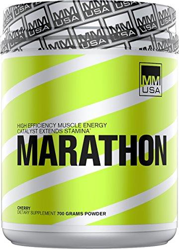 MMUSA Marathon Pre workout, Running, Endurance, Muscle Strength, Stamina, Focus, Creatine, Nitric Oxide Boost. Vo2 Max,  Energy, Beta Alanine, Theobromine, Aerobic & Dopamine Boost