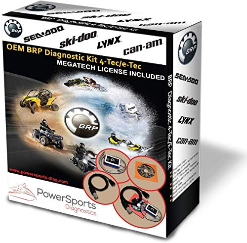BRP BUDS / BUDS2 MPI-3 Diagnostic Scanner 4TEC/ETEC Megatech/Mechatronic Expert for CANAM Skidoo SEADOO Lynx