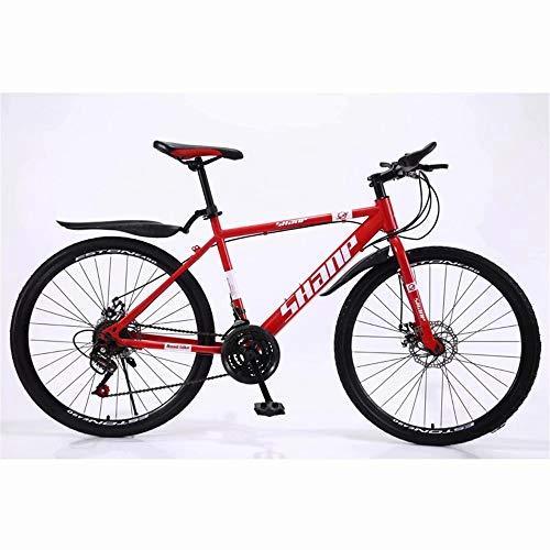 NOVOKART Bicicleta de Montaña Unisex, 26 Pulgadas, MTB para Adultos con Asiento...