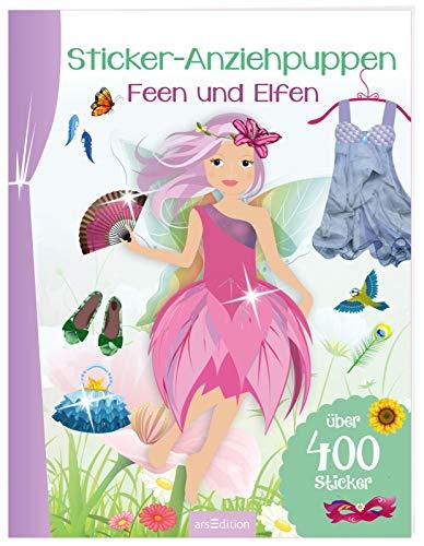 Sticker-Anziehpuppen - Feen und Elfen