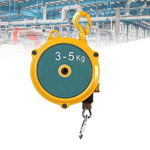 HDMENG Spring Balancer, Balanceador de Resorte Retráctil Multifunción Ajustable con 1.5m Cuerdas y Accesorios para Fábrica, Reparación de Automóviles y Taller