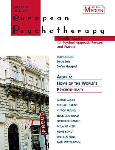 European Psychotherapy 2014/2015: Austria: Home of the World's Psychotherapy (English Edition)