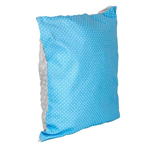 funda cojin 40x40 - cojin infantil cojines decorativos para sofa cojin niña niños cotone Materiale viscosa blu-grigio-bianco