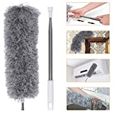 Best Machine Washable Dusters - Microfiber Dusters, LIUMY Feather Duster with Extra Long Review