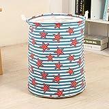 Cesta de lavandería para pícnic, soporte para juguetes, bolsa supergrande, de algodón, para lavar ropa sucia, cesta grande, asa de 11, Estados Unidos, 27 x 23 cm
