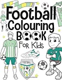 Photo Gallery football colouring book for kids: ages 4-8
