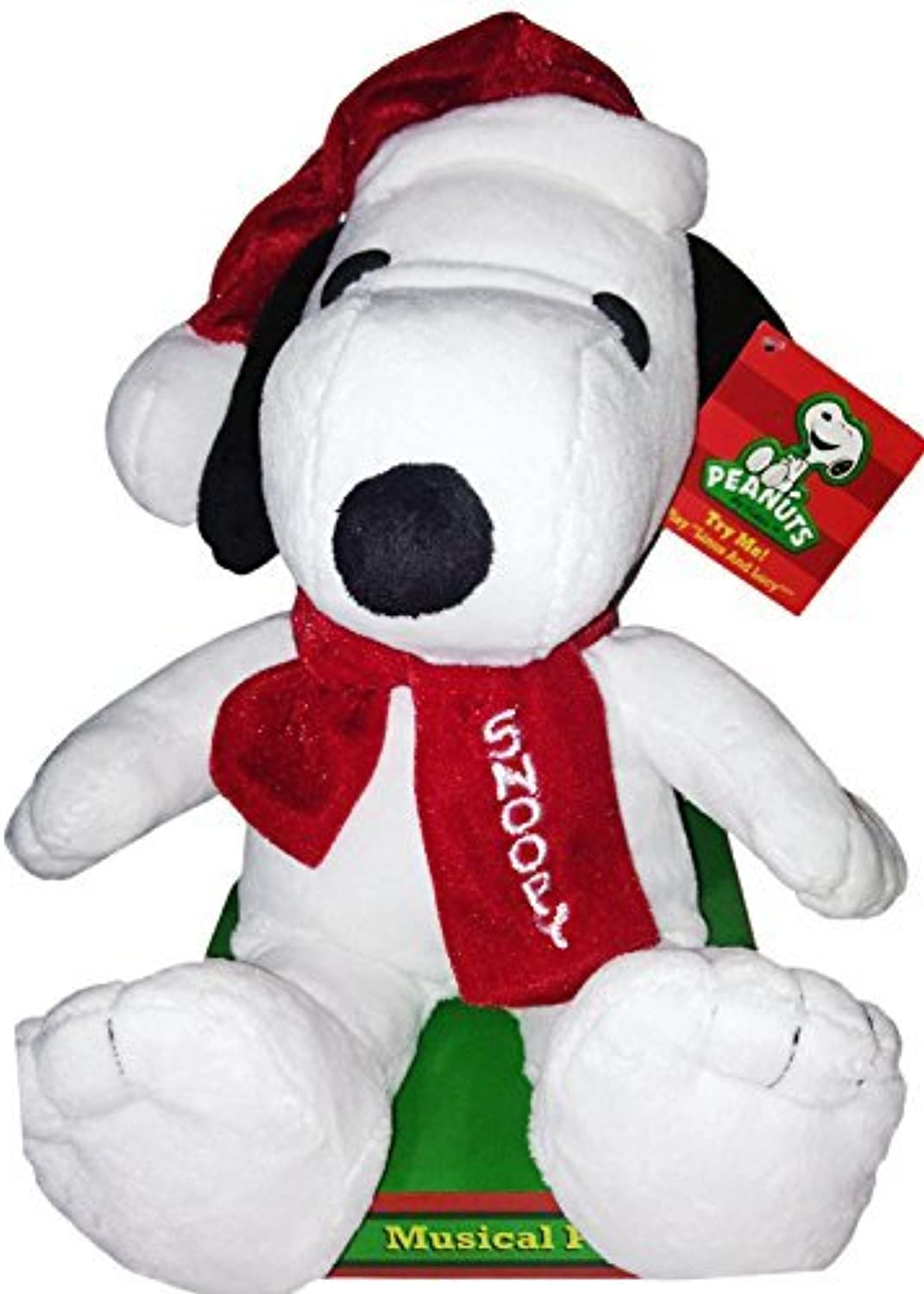 tiendas minoristas Peanuts Musical 12 Snoopy Snoopy Snoopy Christmas Plush - Jugars Lucy and Linus Song by Peanuts  descuento online