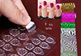 Western World Double Sided Adhesive Tape False Nail Tips Extension Tools (Transparent)