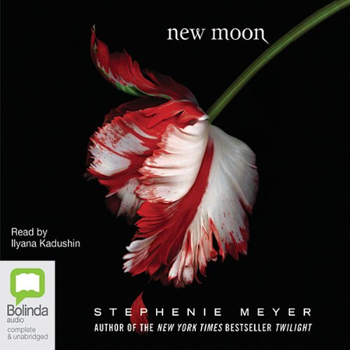 New Moon audiobook cover art
