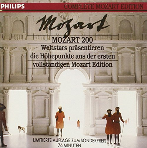 Introducing the Complete Mozart Edition: 19 Complete Movements and Arias