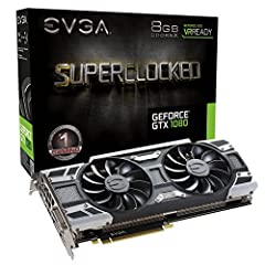 """Real Base Clock: 1708 MHz / Real Boost Clock: 1847 MHz; Memory Detail: 8192MB GDDR5X Run Longer, Play Longer with EVGA """"ACX 3.0"""" Cooling What you see is what you get! – No additional software required to achieve listed clock speeds DX12 OSD Support w..."""