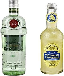 Tanqueray Rangpur Lime Distilled Gin 1 x 0.7 l mit Fentimans Victorian Lemonade, 12er Pack 12 x 275 ml