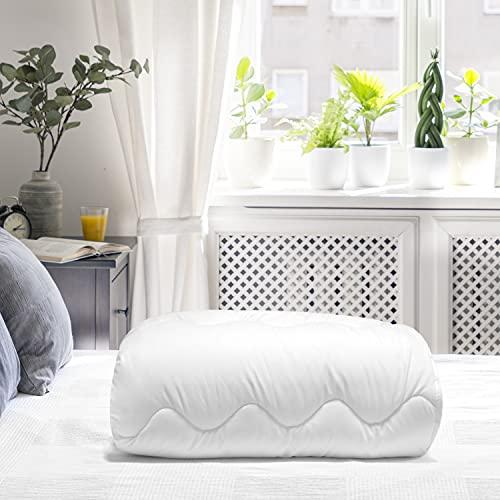 ZenPur Bettdecke 220 x 240, 4 Jahreszeiten, Mikrofaser Steppbettdecke Waschbar, Bettwäsche aus 2 Decken, Winter Sommer Frühling Herbst (220 x 240 cm)