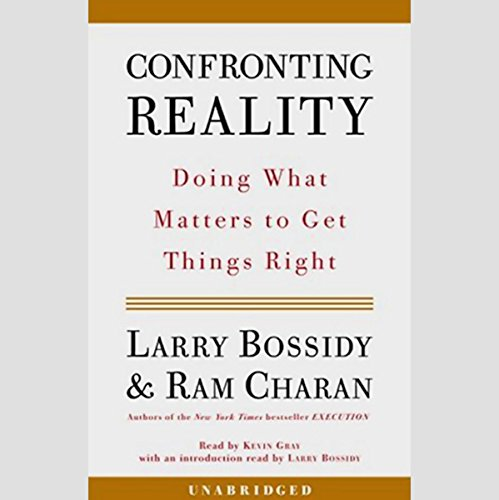Confronting Reality audiobook cover art