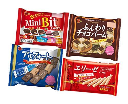 【Amazon.co.jp限定】 ブルボン (セット商品) ファミリーサイズ4種アソート 1袋