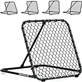 QUICKPLAY PRO Rebounder Adjustable Angle Multi-Sport Trainer | Soccer Rebounder or Baseball & Softball Pitch Back | Ideal for Team and Solo Training (3 x 3')