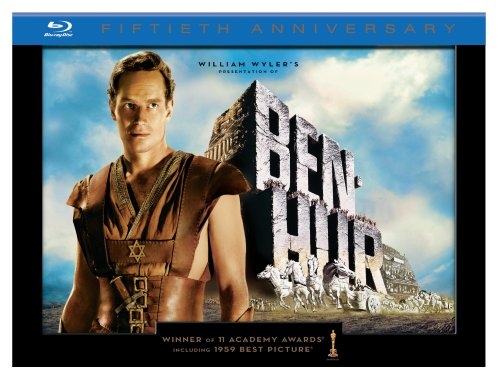 Ben-Hur (50th Anniversary Ultimate Collector's Edition) [Blu-ray]